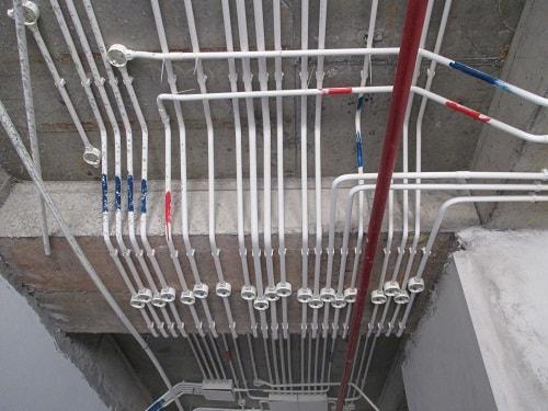 nhận lắp đặt điện nước công trình