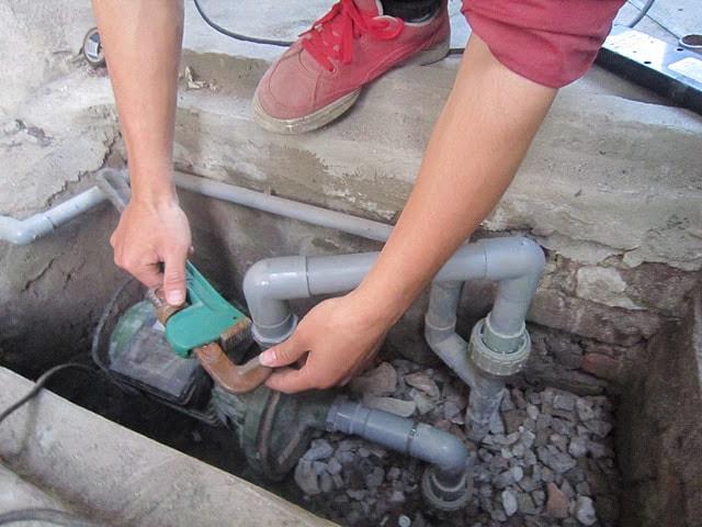 sửa chữa máy bơm nước tại Thanh Xuân